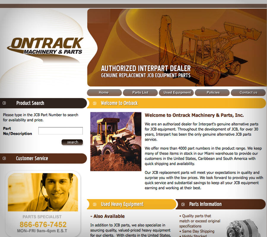 Ontrack Redesign